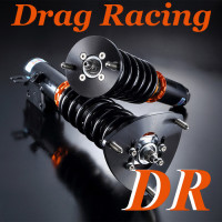 Coilover Cadillac CT4 (19~) Drag Racing