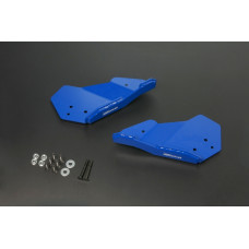 Hardrace Q0644 Front Lower Arm Skid Plate Toyota Hilux 8th An120/130 2015-Present, Toyota Fortuner 2016-Present