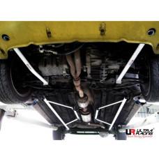 Side Lower Bar Fiat Punto 2 HGT 1.8