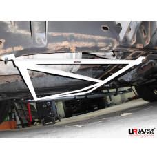 Rear Lower Bar Hummer H2 6.0 (2006)