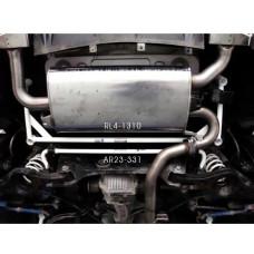Rear Lower Bar Hyundai Genesis (Coupe) 3.8 2WD (2013)