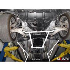 Side Lower Bar Nissan Skyline Crossover 3.5 (2009)