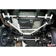 Rear Lower Bar Mazda 3 BL (Hatchback) (2009)