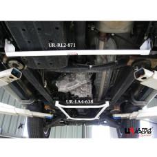 Rear Lower Bar Mitsubishi Pajero IO (2009)