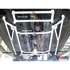 Front Lower Bar Nissan X-Trail (2008)