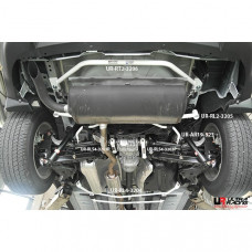 Rear Lower Bar Nissan X-Trail (3rd Gen) 2.5 4WD (2013)