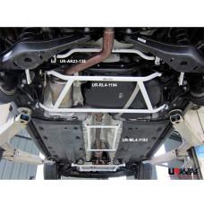 Rear Lower Bar Volkswagen Jetta A6 2.0 TDI (2011)