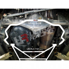 Rear Lower Bar Toyota Fortuner 2.5D 4WD (2012)