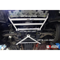 Front Lower Bar Lexus GS 250/200t/300h/350/450h (2012-2020)