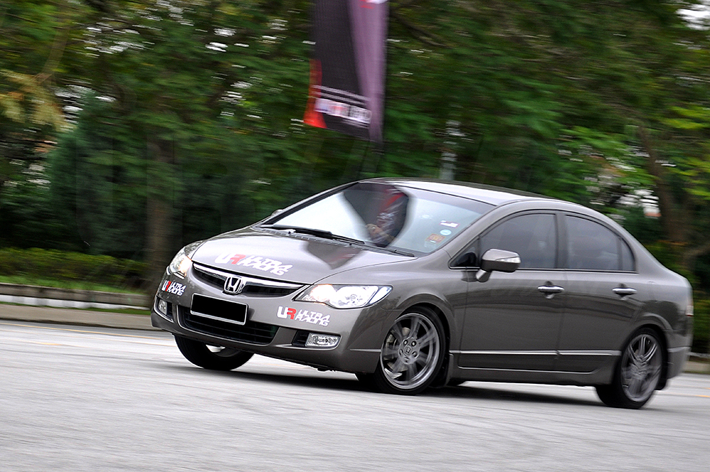 Honda Civic FD - Without Ultra Racing Safety Bar
