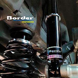 Border Coilovers for Honda CR-V 5 on car