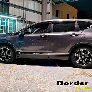 Border Coilovers on Honda CR-V 5