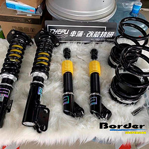 Border Coilovers, full set for Lexus RX