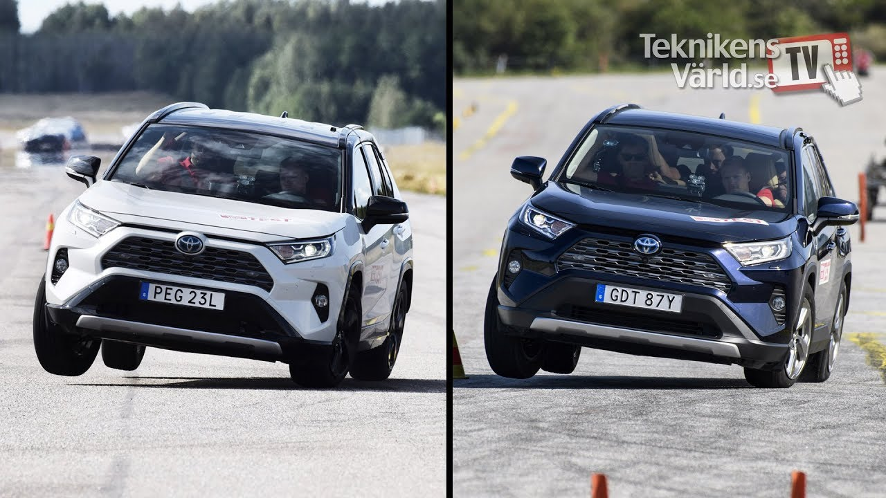 Toyota RAV4 Fails Sweden's Dreaded Moose Test