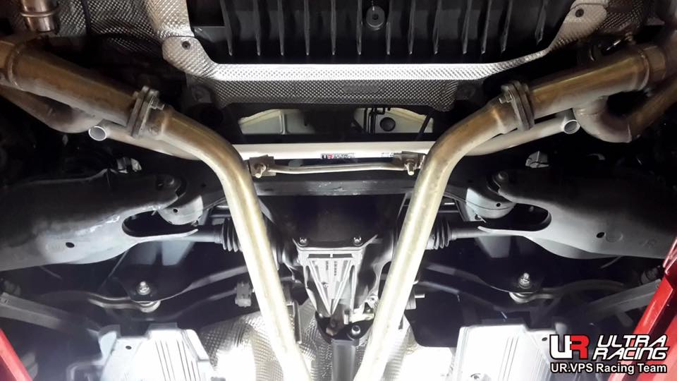 Mercedes - Benz C class W205 Rear Lower Bar from Ultra Racing