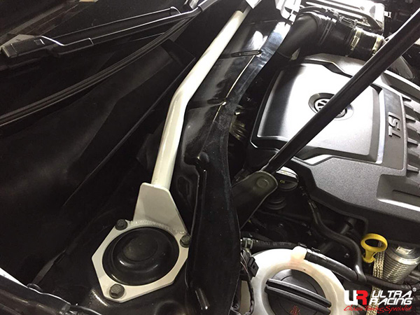 Front Strut Bar from Ultra Racing for Volkswagen Tiguan 2-gen 2016-2018